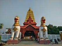 Висок и красивое место в Таиланде ладан, горелка ладана, ручка ладана Стоковая Фотография RF