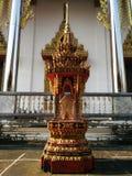 Висок и красивое место в Таиланде ладан, горелка ладана, ручка ладана Стоковая Фотография