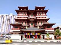 Висок и музей реликвии зуба Будды стоковая фотография rf