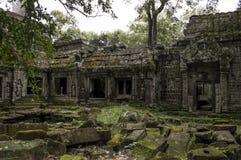 Висок Камбоджа Angkor Стоковые Изображения RF