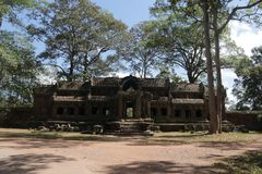 Висок Камбоджа Angkor стоковое изображение