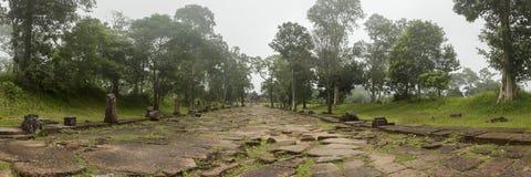 Висок Камбоджа Thom стона животиков Стоковая Фотография