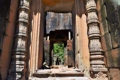 Висок Камбоджи Стоковые Фотографии RF