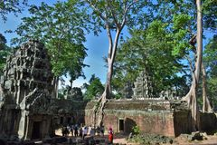 Висок Камбоджи Стоковая Фотография RF