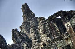 висок Камбоджи bayon Стоковые Фото