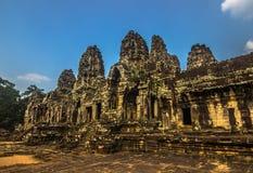 висок Камбоджи bayon стоковые изображения rf