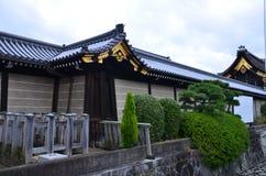 Висок Киото Япония Higashi Honganji стоковая фотография