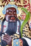 висок китайского божества стоковая фотография