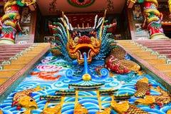 Висок китайца кобры Стоковая Фотография