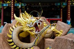 Висок китайца Foo Lin Kong стоковые изображения rf