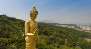 Висок Китая Юньнань большой буддийский стоковое изображение rf