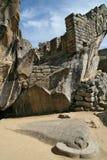 Висок кондора в Machu Picchu, Перу Стоковые Изображения RF