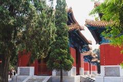 Висок Конфуция, Пекин, Китай стоковое изображение