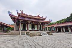 висок Конфуция taiwan стоковые изображения rf