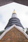 висок красивейших драконов стеклянный тайский Стоковые Изображения RF