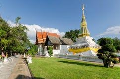 висок красивейших драконов стеклянный тайский Стоковая Фотография RF