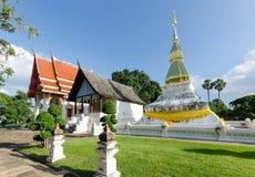 висок красивейших драконов стеклянный тайский Стоковая Фотография