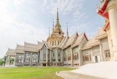 висок красивейших драконов стеклянный тайский Стоковые Изображения