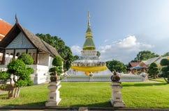 висок красивейших драконов стеклянный тайский Стоковое фото RF