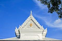 висок красивейших драконов стеклянный тайский Стоковые Фотографии RF