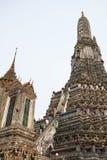 висок крыши церков тайский Стоковая Фотография