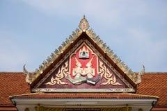 висок крыши церков тайский Стоковые Фотографии RF