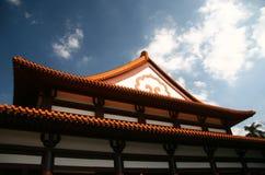 висок крыши Стоковое фото RF