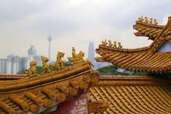 висок Куала Лумпур hou tien стоковая фотография
