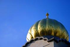 висок купола Стоковая Фотография