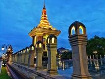 Висок кхмера Стоковая Фотография