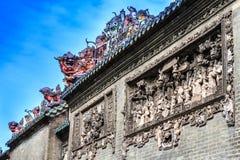 Висок клана Chen губит пейзаж Стоковые Изображения