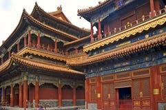 Висок лама, Пекин, Китай стоковое изображение rf