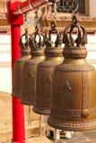 висок латунного рассвета колокола святейший стоковые фотографии rf