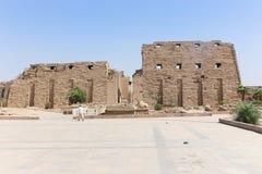 Висок Луксор Karnak Стоковые Изображения