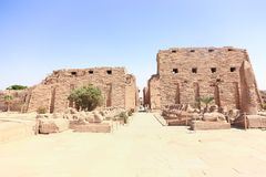 Висок Луксор Karnak Стоковые Фотографии RF