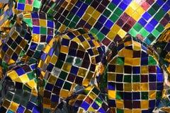 Висок мозаики bluets Стоковые Фото