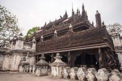Висок Мьянмы Стоковые Изображения RF