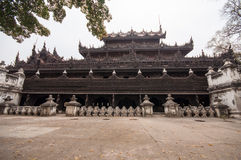 Висок Мьянмы Стоковые Изображения