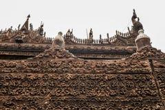 Висок Мьянмы Стоковые Фотографии RF