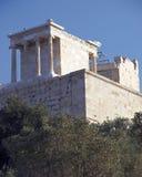 висок Найк Афины акрополя Стоковое фото RF