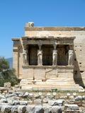 Висок Найк Афины, акрополя Афин, Греции 3 Стоковая Фотография