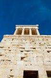 Висок Найк Афины в августе 2013. Афины, Греция. Стоковая Фотография