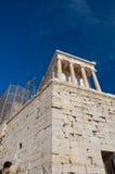 Висок Найк Афины в августе 2013. Афины, Греция. Стоковое Изображение RF