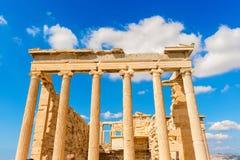 Висок Найк Афины в Греции Стоковое фото RF