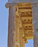 Висок Найк Афины малый, Афины Греция Стоковые Изображения
