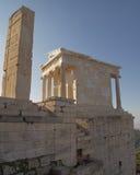 Висок Найк Афины (победы), Arthens Греция Стоковое Фото