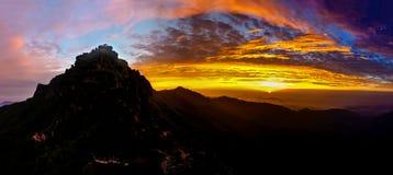 Висок на восходе солнца стоковая фотография rf