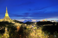 Висок на горе Стоковые Фото