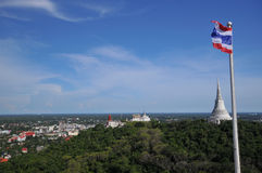 Висок на горе Стоковая Фотография