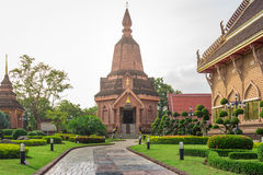 Висок на Loei, Таиланде Стоковые Изображения
